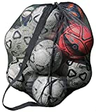"""Large Nylon Mesh Drawstring Sports Equipment Ball Bag Sack with Shoulder Strap for Practice, School Class, Beach (30"""" x 40"""" Inches) by Super Z Outlet"""