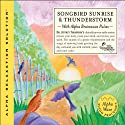 Songbird Sunrise and Thunderstorm  by Jeffrey Thompson
