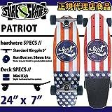 "LOST【ロスト】スケートボード PATRIOT 24""x7"" サーフスケート 正規品"