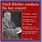 Erich Kleiber Conducts His Last Concert