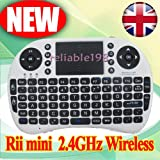 2.4G Wireless Rii Mini i8 Keyboard with Touchpad for PC, Pad, Android TV Box, Google TV Box, Xbox360, PS3, HTPC/IPTV, etc UK Fast Shipping