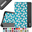 Fintie iPad mini 4 Case - Ultra Slim Lightweight Stand Smart Cover with Auto Sleep/Wake Feature for Apple iPad mini 4 (2015 Release), Floral Blue