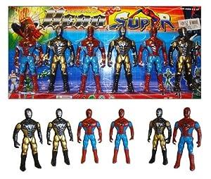"""Spiderman 4"""" Action Figures"""