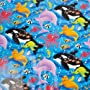 Childrens Birthday Party Gift Wrap - Under The Sea&hellip by Amscan