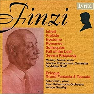 Finzi - Orchestral Works from Lyrita