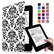 """Fintie Blade X1 Kindle Paperwhite Case - Premium Protective Smart Shell Leather Cover for Amazon Kindle Paperwhite (Both 2012 and 2013 Versions with 6"""" Display and Built-in Light) , Versailles"""