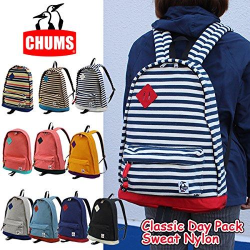 (チャムス)CHUMS ch60-0681 バックパック CH60-0681 Classic Day Pack Sweat Nylon 正規品 HGreyNavy