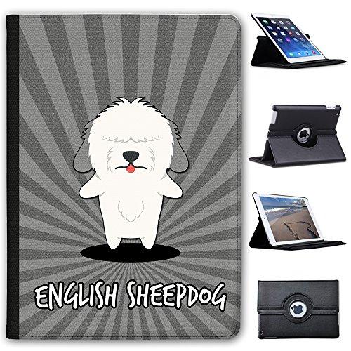 anglais-cartoon-chiens-fancy-a-snuggle-etui-en-similicuir-avec-support-de-visionnage-pour-tablettes-