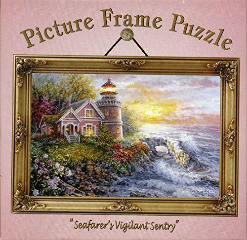 "Picture frame puzzle,""Seafarer's Vigilant Sentry"""