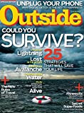 Outside (1-year auto-renewal) [Print + Kindle]