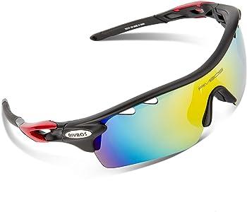 Rivbos 801 Unisex Polarized Sports Sunglasses