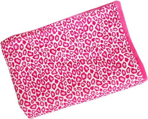 Caden Lane Blanket, Girly Pink Leopard - 1