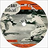 Baseball Digest 1940-1963 cd dvd 145 issues 2 disc set stats history bios more