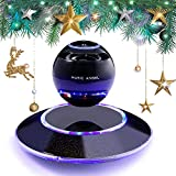 Music Angel JH-FD19 Levitating Portable Wireless Bluetooth Speakers with Microphone for iphone and ipad (Black) Picture
