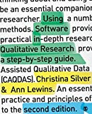 Product 1446249735 - Product title Using Software in Qualitative Research: A Step-by-Step Guide