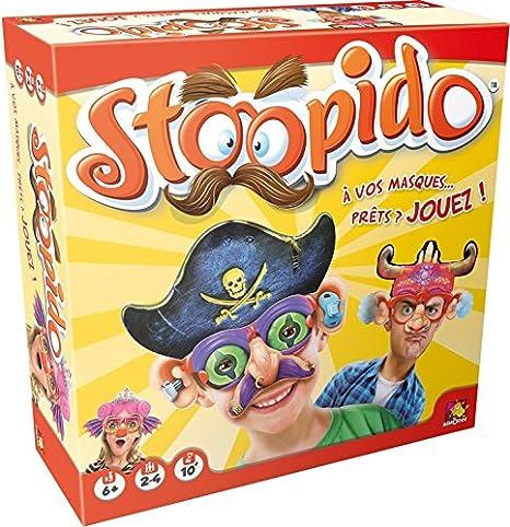 Asmodee - A1503588 - Jeu pour enfant - Stoopido