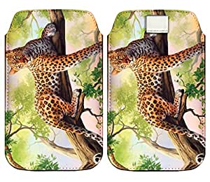 Wow Premium Design Pu Leather Pull Tab Protective Pouch For Lenovo A6000