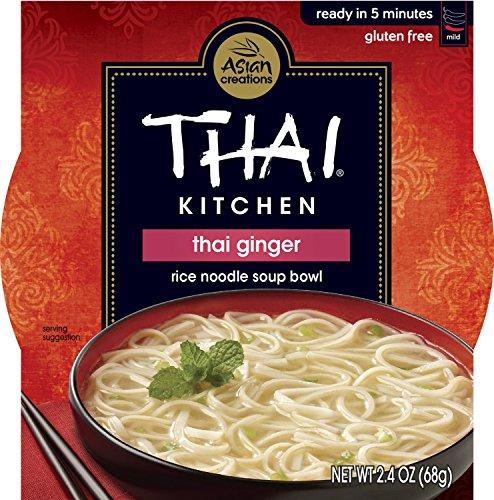 Thai Kitchen | Gluten Free -Noodle Bowl-Thai Ginger 2.4 Oz [1Pack]