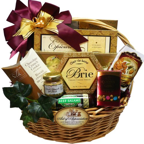 Art of Appreciation Gift Baskets Snack-A-Licious Gourmet Food Gift Basket image