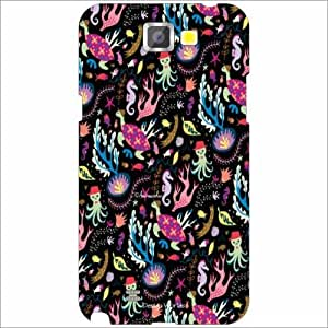 Design Worlds - Samsung Galaxy Note 2 N7100 Designer Back Cover Case - Mult...