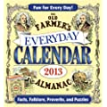The Old Farmer's Almanac 2013 Everyday Calendar