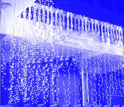 3Mx3M-300-LED-Outdoor-String-Light-Curtain-Light-for-Christmas-Xmas-Wedding-Party-Home-Decoration-US-Warm-White