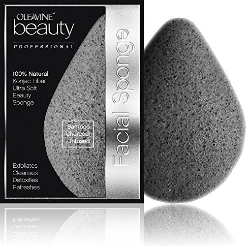 oleavine-all-natural-konjac-sponge-activated-charcoal-gentle-exfoliating-facial-sponge-by-oleavine