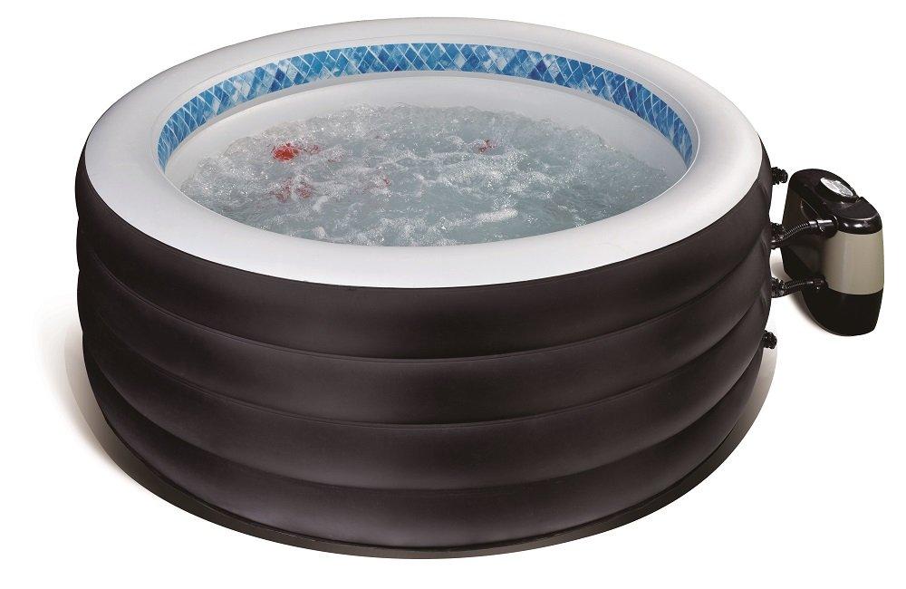 Avelini – Garten Swimming Pool 720l Aufblasbar Vier Personen Pool Bad Spa Whirlpool + Abdeckung günstig online kaufen
