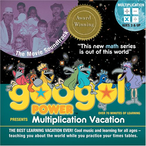 Googol Power: Multiplication Vacation Soundtrack