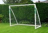Samba Soccer Fun Goal 8ft x 6ft Back Garden Childs Football Goals with Net