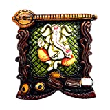 Celebration Hanging Ganesh (15 CM X 15 CM X 15 CM_s048)