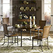 Hot Sale Riverside Furniture Medley 5 Piece Round Dining Table Set