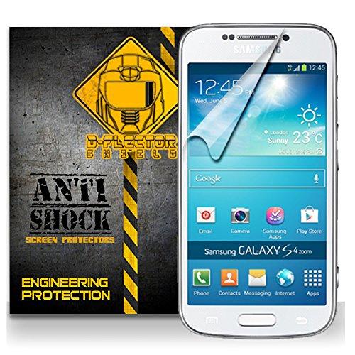 D-Flectorshield Samsung Galaxy S4 Anti-Shock/Military Grade/ Tpu /Premium Screen Protector / Self Healing / Oleophobic Material / Ez Install / Ultra High Definition / Scratch Proof / Bubble Free Install / Precise Laser Cuts front-619270