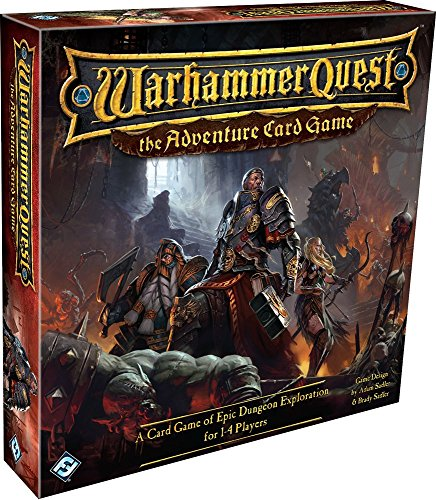 Warhammer Quest: The Adventure Card Game (Warhammer Board Game compare prices)