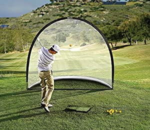 SKLZ Home Practice Range Hitting Mat, Net and Practice Balls