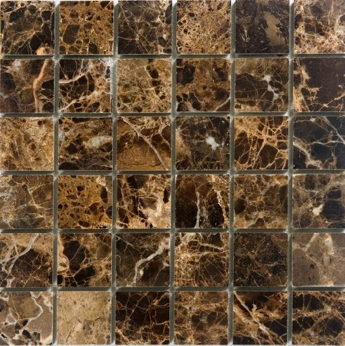Epoch Tile ED2X2 2x2 Emperador Dark Polished Marble