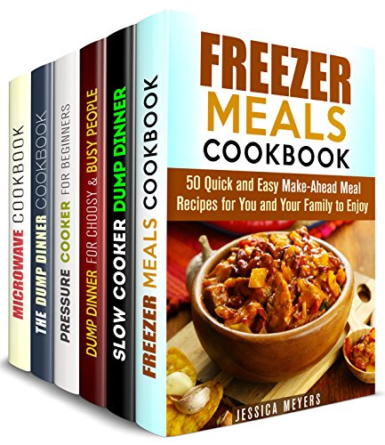 Busy People Recipes Box Set (6 in 1): Quick and Easy Recipes for Busy People to Enjoy (Busy People Cookbook) by Jessica Meyers, Jessica Meyer, Claude Adkins, Julie Peck