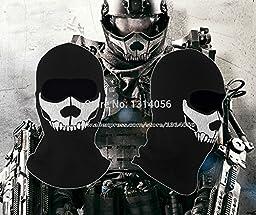 2015 - Wholesale - 2014 New High Qualit Edge of Tomorrow mask Ghost Ski Full Face Mask Biker Totenkopf Skull Face Motorrad