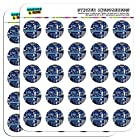 Blue Computer Motherboard Processor CPU Memory 1 Scrapbooking Crafting Stickers