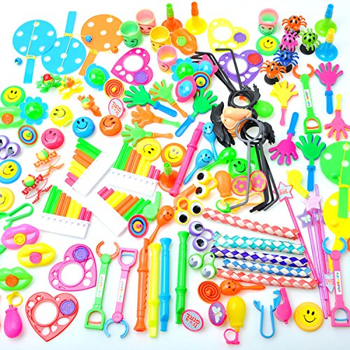 Kids-Party-Favor-Toy-Assortment-Incentives-Value-Pack-Carnival-Prizes-of-120-Pc