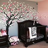 Cherry Blossom Tree - Elegant Style (Color Scheme A - Black Tree)