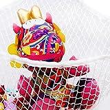 SupplyEU Spielzeughängematte Spielzeugnetz Drei Ecke Netz Kinderzimmer Toy Organizer Für