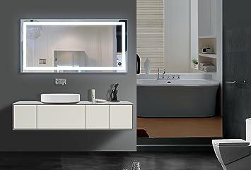 Lighted bathroom Mirror Harmony 48 X 24 In