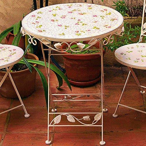 Gärtner Pötschke Mosaik-Tisch Garten-Idylle