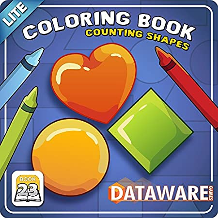 Coloring Book 23 Lite: Counting Shapes [Download]