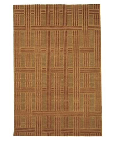 Safavieh Thomas O'Brien Deco Plaid Rug, Vermillion, 6' x 9'
