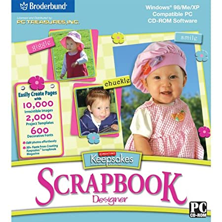 Creating Keepsakes Scrapbook Designer PC Software