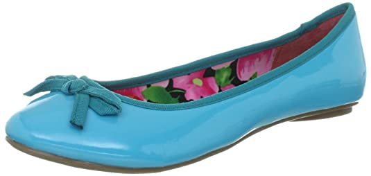 Buffalo London 211-5279 PATENT PU 132275, Ballerines femme
