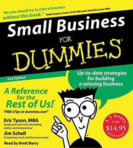 Small Business for Dummies 2nd Ed. CD