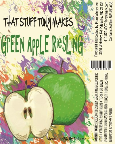 Nv That Stuff Tony Makes Green Apple Riesling 750 Ml